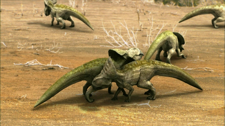 dinosaurios luchando, documental tarbosaurus