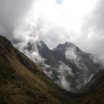 mountain with sky documentary porters of the inca trail, documental porteadores del camino inca