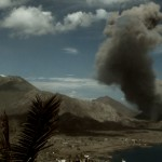 fumata de volcan, documentary ash runners, documental habitantes del volcan