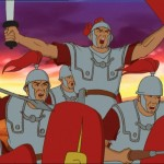 Alix, series infantiles dibujos esclavos romanos, anime series TV shows roman slaves