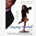 Poster durmiendo juntos - sleeping together flyer film movie