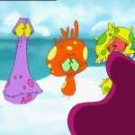 contamination bacterias, Raindrop animated series