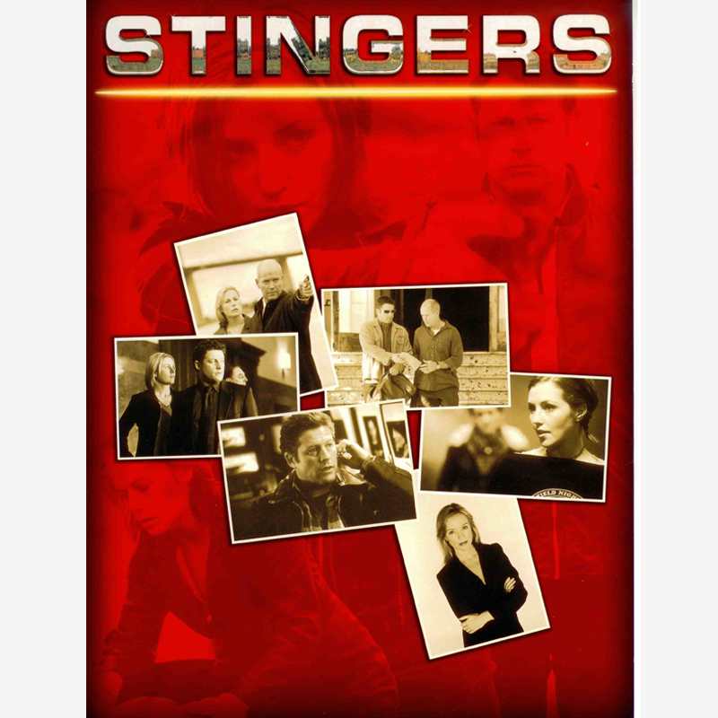 Stinger fiction series shows poster - Tv content distribution