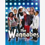 The Wannabes poster, teenagers tv series comedy, comedia adolescentes para tv