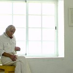 Documentary Stipo Pranyko with withe paintings, documental Stipo Pranyko con cuadros blancos