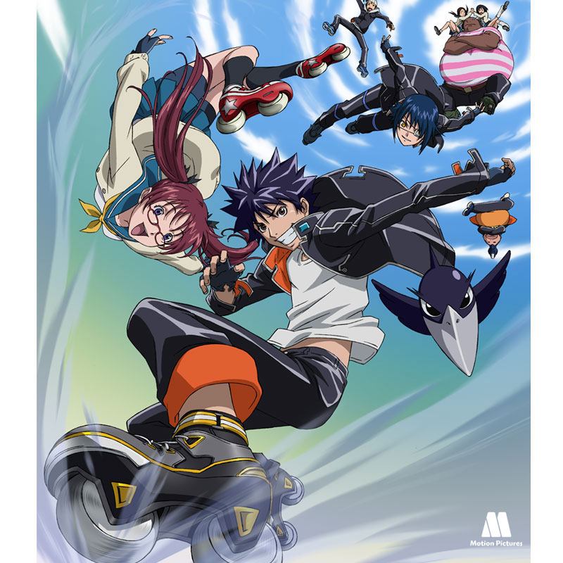 flyer, Air gear serie dibujos japoneses, anime tv shows kids
