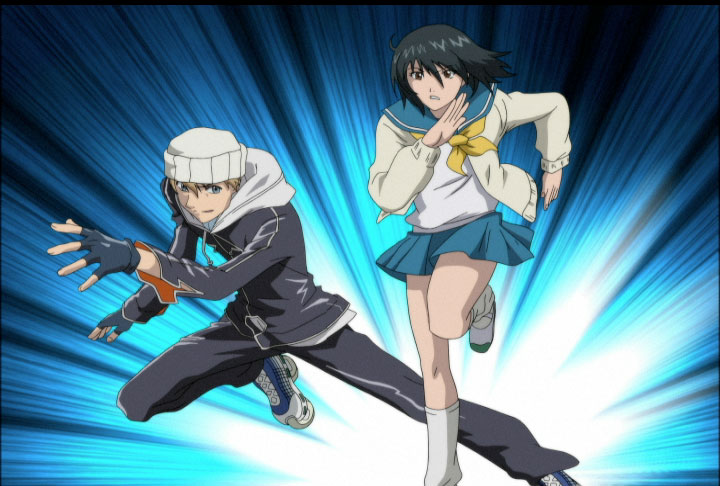 escapar, Air gear serie dibujos japoneses, anime tv shows kids