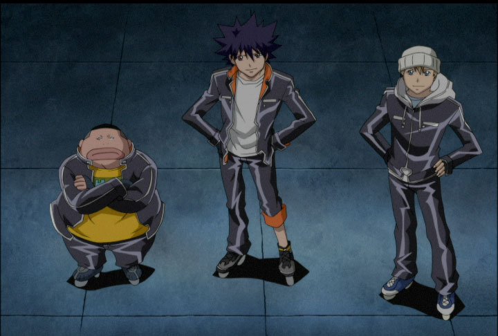 grupo amigos ikki, Air gear serie dibujos japoneses, anime tv shows kids