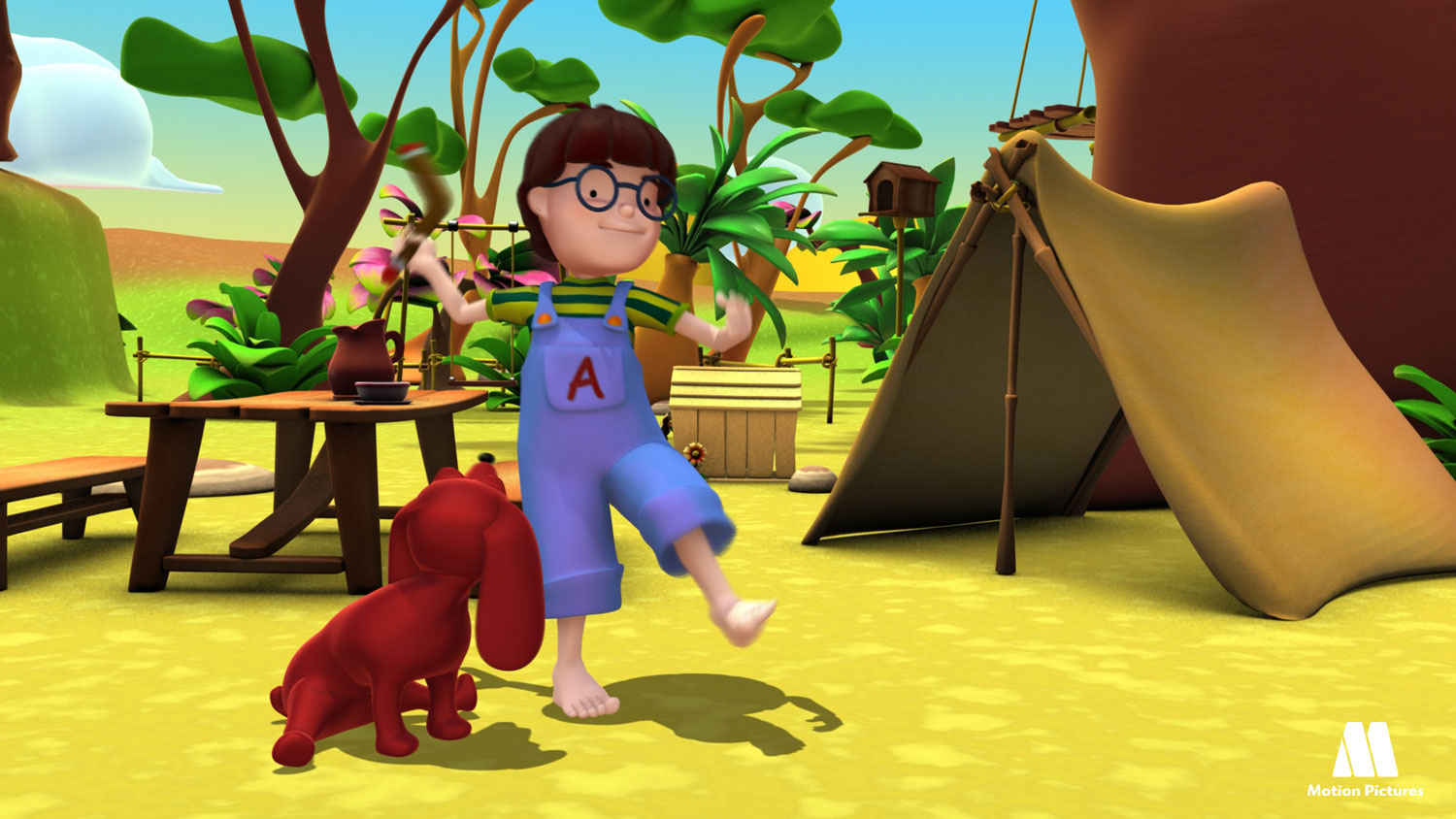 Alex de acampada - Alex, Serie animacion educativa, education cartoon series