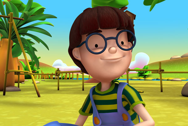 Alex, serie dibujos animados educativos, educational animated series
