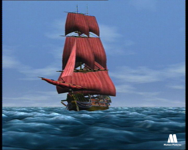 Barco pirata, Barbarroja, serie dibujos piratas, animation pirates TV series