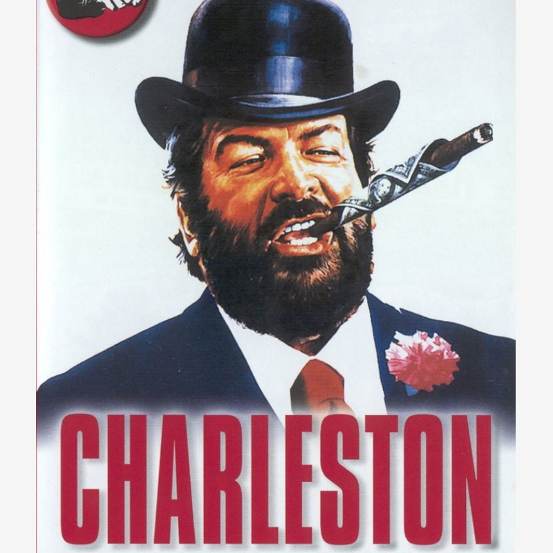 Mr. charleston poster, pelicula Bud spencer, movie