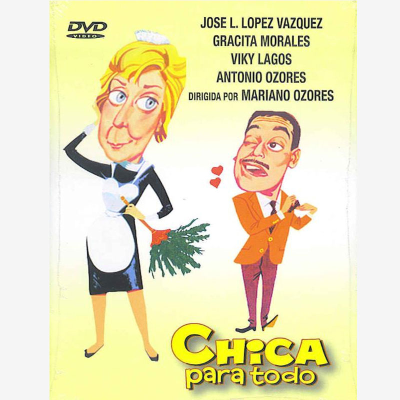 Poster pelicula Chica para todo, comedy film., movies for television