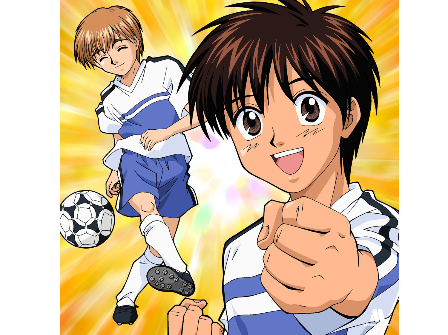 optimismo, Dream Team, dibujos animados futbol, soccer anime japanese series