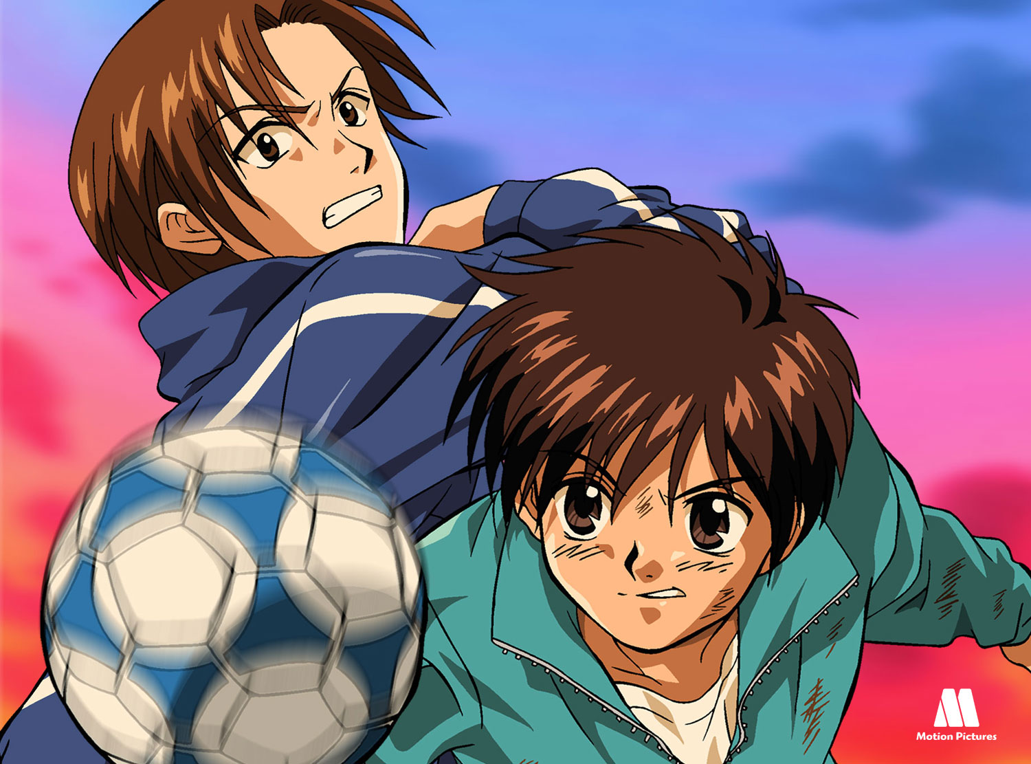 regatear, Dream Team, dibujos animados futbol, soccer anime japanese series
