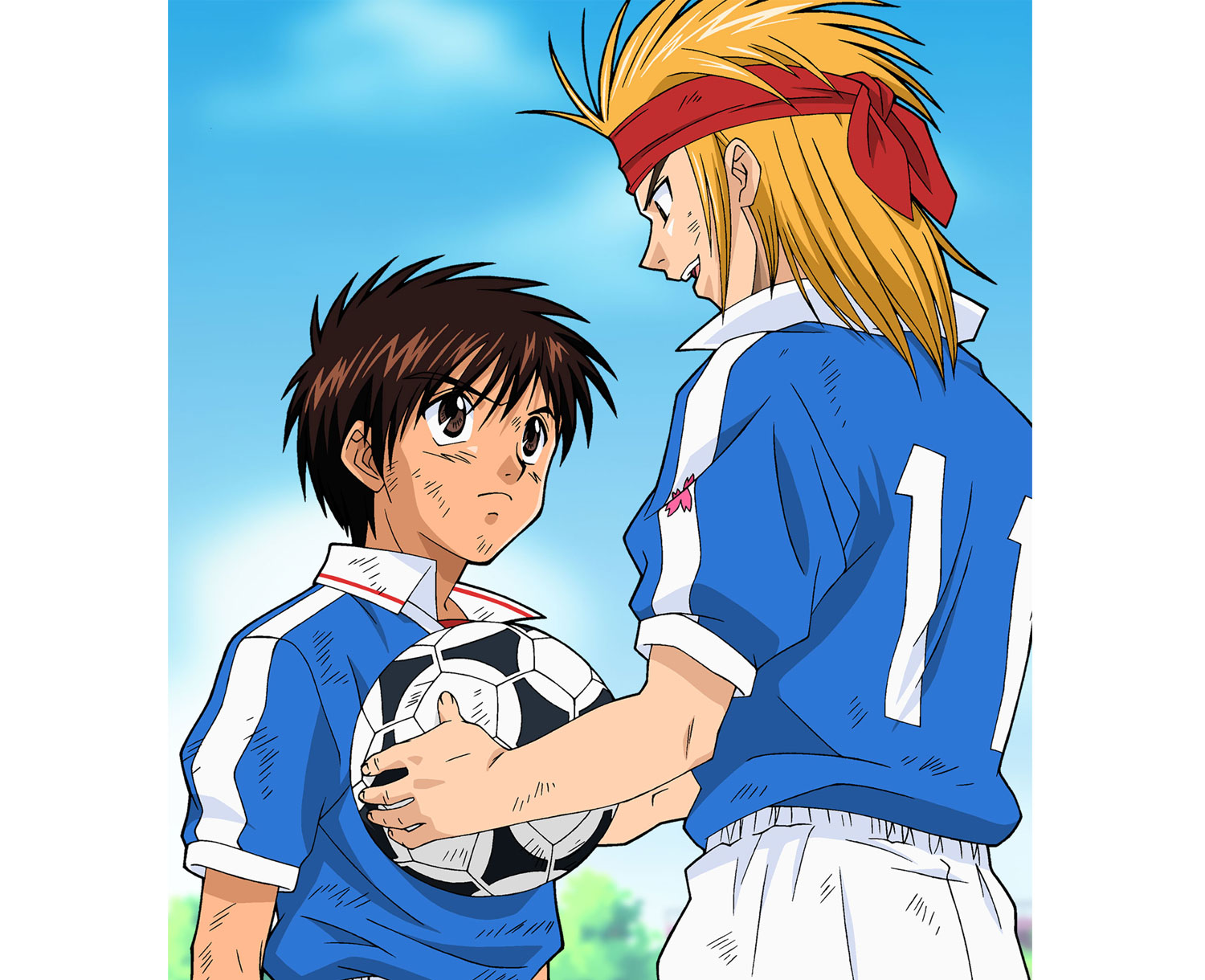 confianza, Dream Team, dibujos animados futbol, soccer anime japanese series