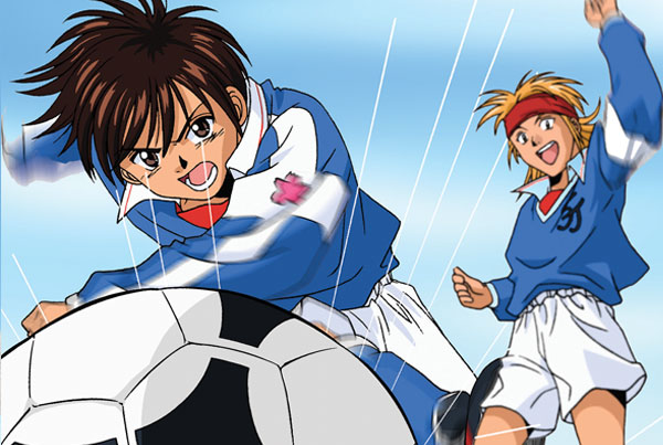 disparo gol, Dream Team, dibujos animados futbol, soccer anime japanese series