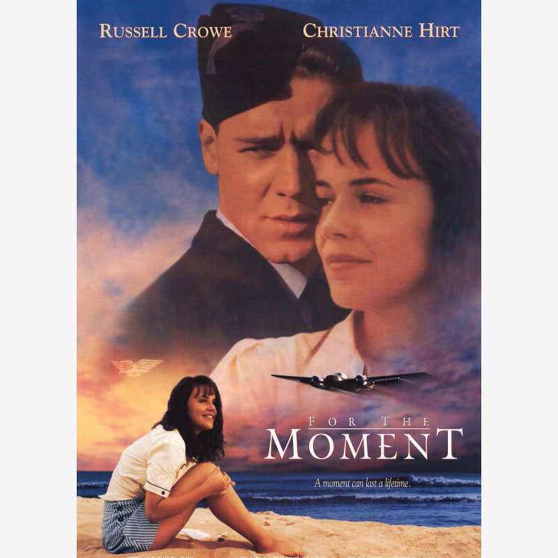 Poster for the moment film, tensa espera pelicula