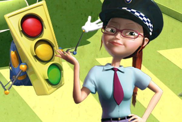 green light dibujos infantiles educativos - educational cartoons for kids