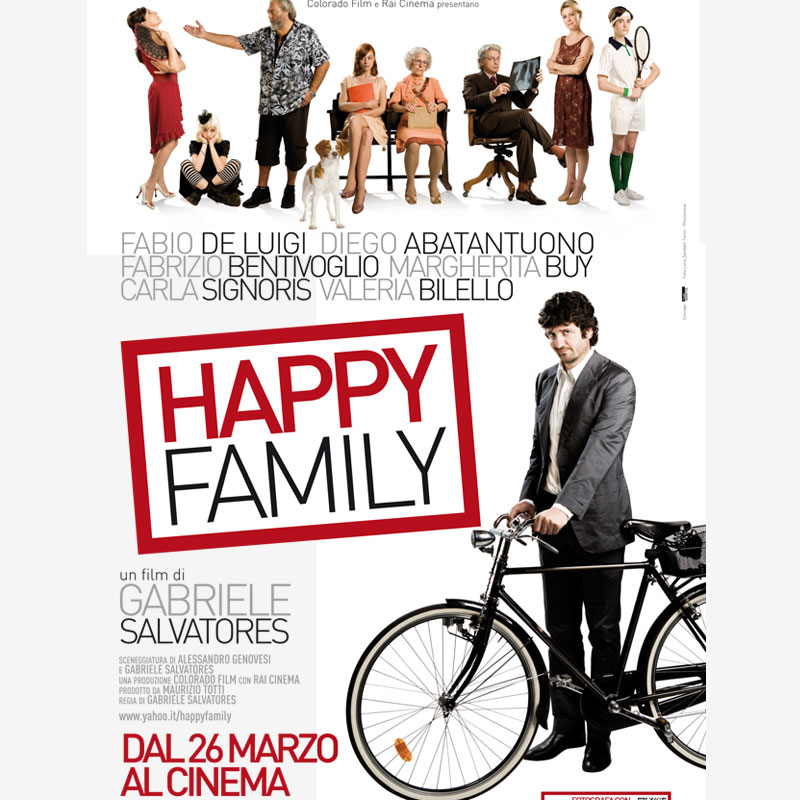 Poster happy family, pelicula de humor, comedy movie, films