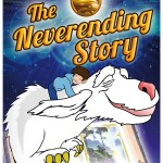 Portada, cover. serie animacion TV historia interminable, neverending Story animation