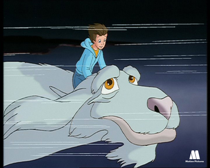 Sobrevolando Fantasia, serie animacion TV historia interminable, neverending Story animation