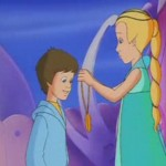 Bastian y la princesa, serie animacion TV historia interminable, neverending Story animation