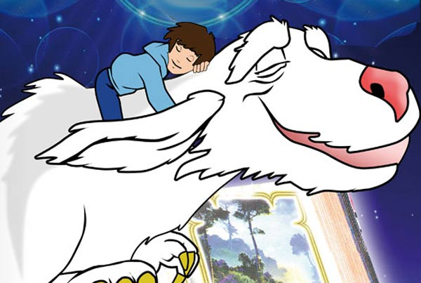 Dibujos animados, serie animacion TV historia interminable, neverending Story animation