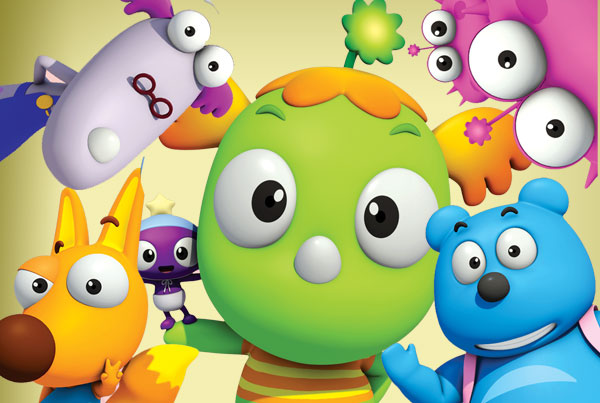 Kemy, serie educativa animacion niños TV, educational learning series TV