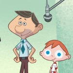 Matt y su padre, , Matt'S Monster, serie dibujos para television, TV cartoon animated show