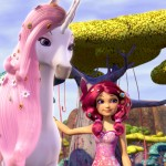 Unicornio mascota, Mia & Me, series dibujos animados niñas, TV girls cartoon show animation