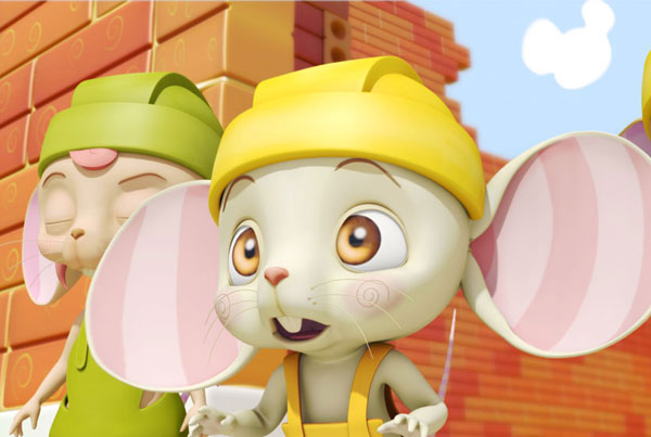 Mice Builder, dibujos para niños y bebes, toddlers animation series