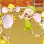 Ratones constructores- Mice builders, dibujos animados infantiles preescolar, educational guessing animation series