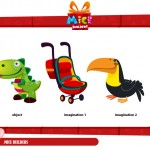Objetos adivinanzas, - Mice builders, dibujos animados infantiles preescolar, educational guessing animation series