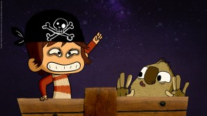 Pirata, pok Mok, serie dibujos animados niños, animated cartoon TV shows for kids