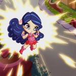 Superpoder. Pop Pixie serie dibujos animados, animated series for TV girls