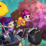 Moto magica, Pop Pixie serie dibujos animados, animated series for TV girls