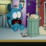 rata en la basura, mouse in the garbage - Roncho, dibujos divertidos chistosos de un perro, funny faill dog cartoon show