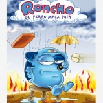 roncho, dibujos divertidos chistosos de un perro, funny faill dog cartoon show