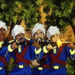 Guardia dispara, Sandokan, serie clasica infantil - classical animation show
