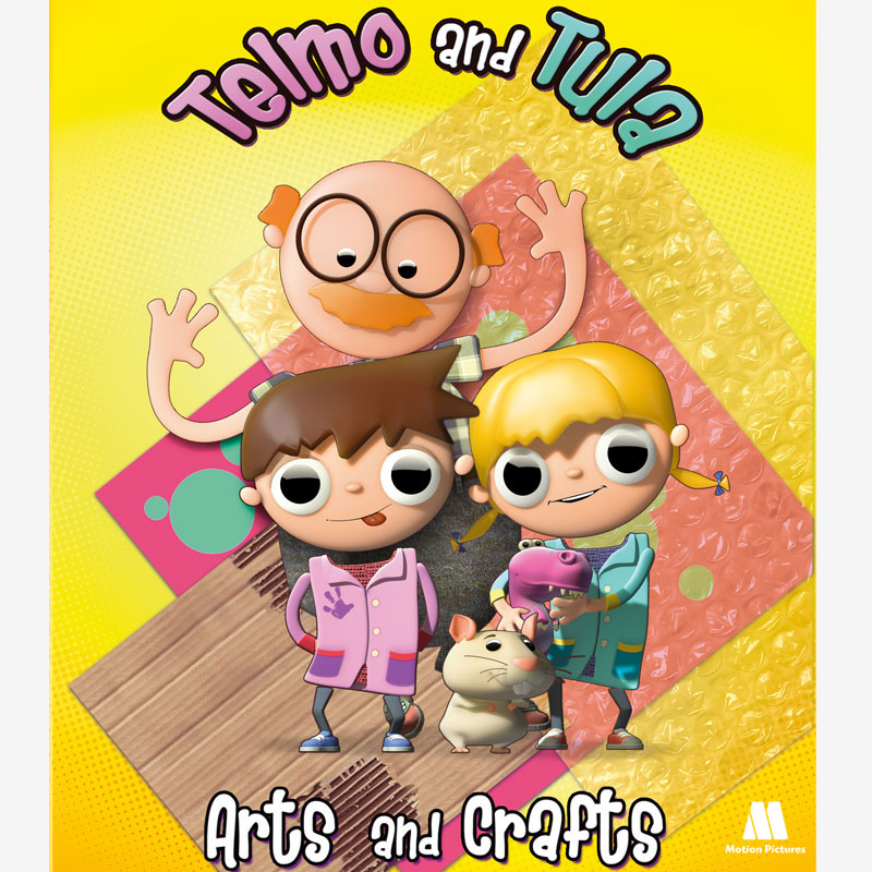 Telmo and Tula, arts and crafts, manualidades - animation TV show kids