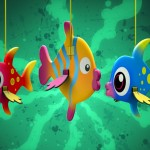 manualidad peces colores, Telmo Tula crafts, manualidad, serie dibujos animados, animation TV kids Show