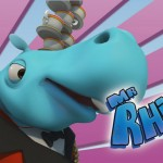 Mr. Rhino, Zumbers, serie infantil animación educativa, animated cartoon series for kids educational