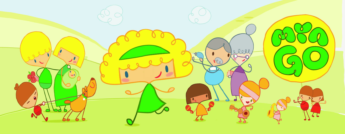 Mya go pitch, animation for kids entertainment tv