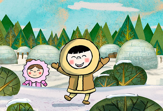 horaci-inuit-serie-dibujos-animados-cartoon